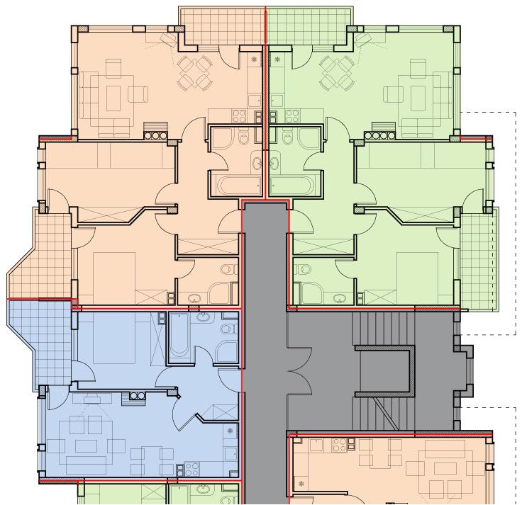 Площ апартамент